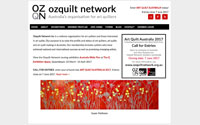 Ozquilt Network website