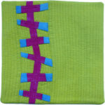 And another chartreuse background in the Copa Abstractions collection doesn't go astray either.