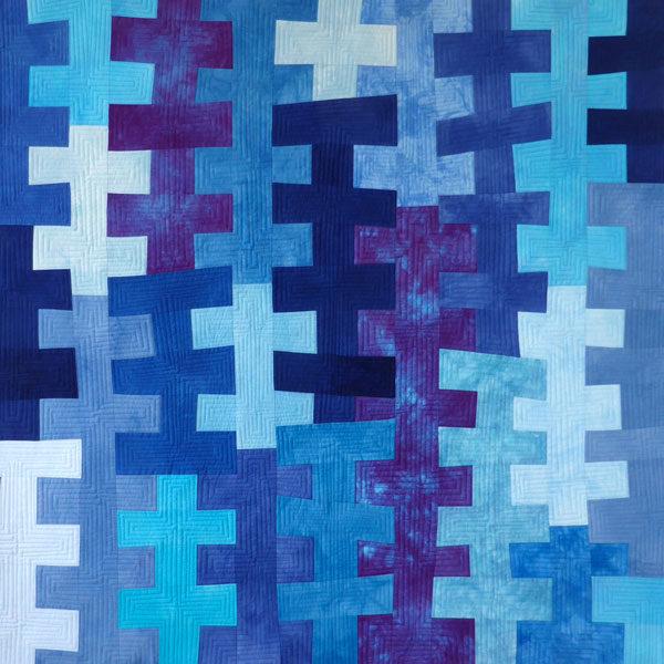 Blue Delphiniums Brenda Gael Smith