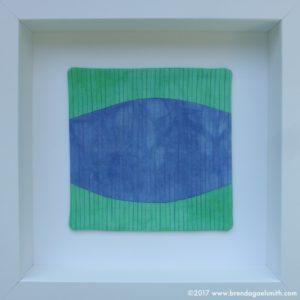 Blue Groper - Copa Abstractions - Brenda Gael Smith